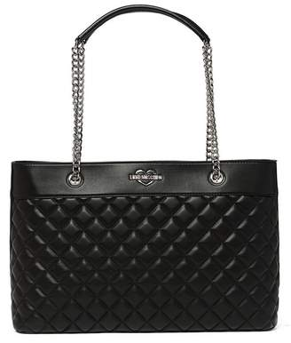 Love Moschino Quilted PU Chain Shoudler Strap Shoulder Bag