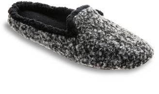 Isotoner Women's Jessie Knit Hoodback Slippers