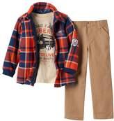 Boyzwear Toddler Boy Boyzwear Plaid Flannel Shirt