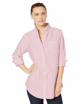 Clementine Women's ULTC-8990-Classic Wrinkle-Free Long-Sleeve Oxford