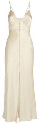 Shona Joy Satin Jefferson Midi Dress