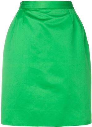 Yves Saint Laurent Pre-Owned High-Waisted Pencil Skirt