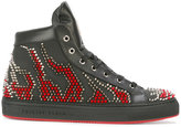 Philipp Plein Back To School mid-top sneakers
