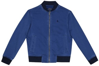 Polo Ralph Lauren Stretch-cotton bomber jacket