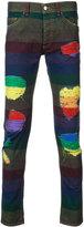Palm Angels rainbow stripe jeans - men - Cotton - 31