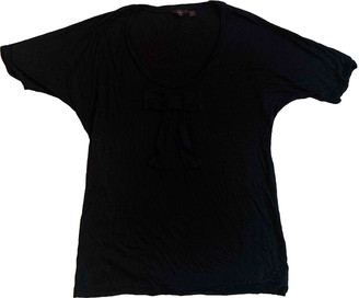 Mulberry Black Synthetic Tops