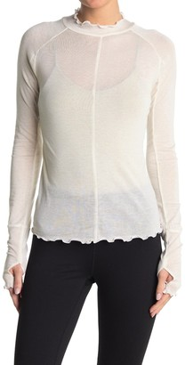 Free People Solid High Jump Long Sleeve Top