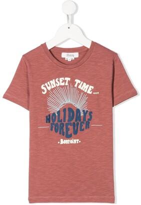 Bonpoint graphic print T-shirt