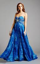 Lara Dresses - 21938 in Blue Print