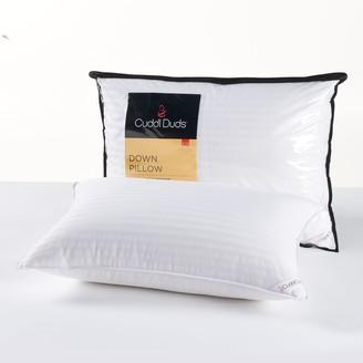 Cuddl Duds Medium Firm Down Pillow