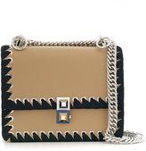 Fendi macro-weave small Kan I bag - women - Calf Leather - One Size