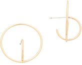 Rebecca Minkoff Encircled Baby Hoop Earrings