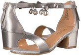 Badgley Mischka Kids Pernia Pearl Bow (Little Kid/Big Kid) (Silver) High Heels
