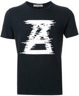 Anrealage logo print T-shirt - men - Cotton - 46