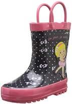 BeOnly Be Only Girls' Un Jour Je Serai Danseuse Rain Boots blue Size: 6 Child UK