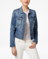 KUT from the Kloth Petite Helena Empathetic Wash Denim Jacket