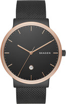 Skagen Skw6296 Ancher Rose Gold-toned Stainless Steel Watch