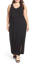 Sejour Jersey Maxi Dress (Plus Size)