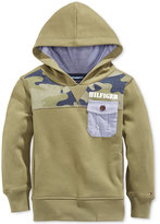 Tommy Hilfiger Little Boys' Camo-Print Pullover Hoodie
