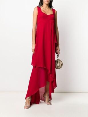 2000s Layered Asymmetric Dress