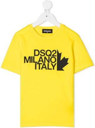 DSQUARED2 Milano logo print T-shirt