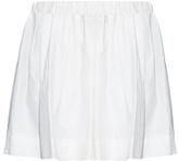 Marc Jacobs Wide-leg cotton shorts