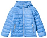 Ticket to Heaven French Blue Lightweight Padding Chris Jacket With Detachable Hood