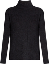 Velvet by Graham & Spencer Rosa high-neck cashmere sweater