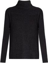 Velvet by Graham & Spencer Rosa high-neck cashmere sweater