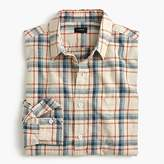 J.Crew Slub cotton shirt in faded plaid