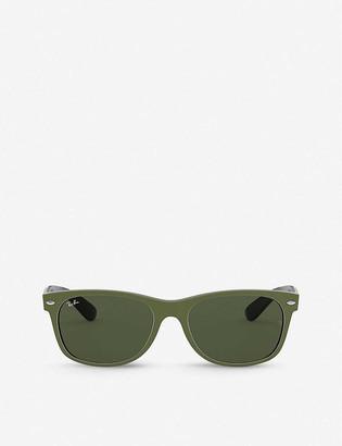Ray-Ban RB2132 55 New Wayfarer Colour Mix nylon sunglasses