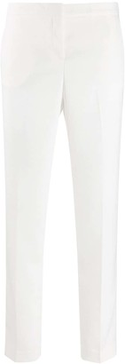 Ermanno Scervino Mid-Rise Cropped Trousers