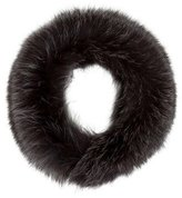 Theory Fox Fur Collar