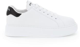Prada Logo Low Top Sneakers