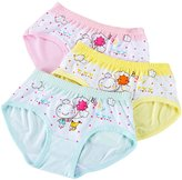 Aivtalk Girls Cotton Briefs Hipster Cartton Panties 3 Pack Underwear Boyshort 4-5 Years