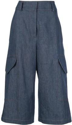 Sies Marjan Cargo Cropped Trousers