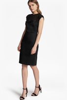 Hettie Jewel Capped Sleeves Dress