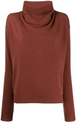 Agnona slim-fit cashmere jumper