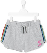 Stella McCartney TEEN S patch track shorts
