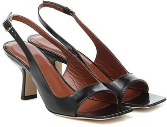 BY FAR Lopez leather sandals