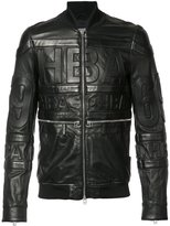Hood by Air leather bomber jacket - men - Leather - M