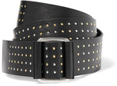 McQ by Alexander McQueen Knot studded leather belt