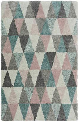 Noble Triangles Rug - 120x170cm - Multicoloured