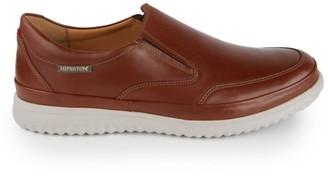 Mephisto Twain Slip-On Leather Sneakers