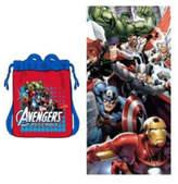 Linen Depot Direct Marvel Avengers Beach Towel Set