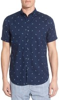 Howe Banchee Paisley Short Sleeve Regular Fit Shirt