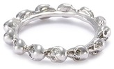 Delfina Delettrez Diamond 18k white gold skull ring