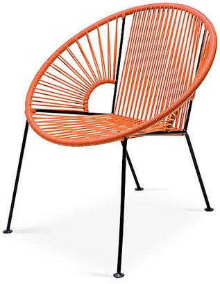 Mexa Ixtapa Lounge Chair - Tangerine