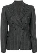 Tagliatore pinstripe double-breasted blazer