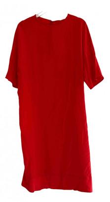 By Malene Birger Red Silk Dresses